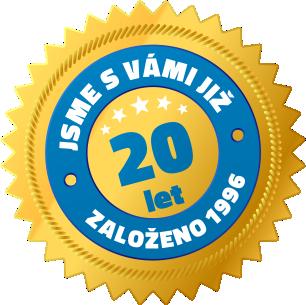 20 let s vámi - založeno 1996